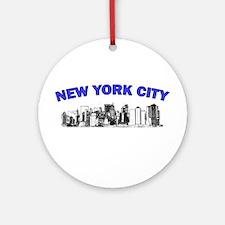 New York City Ornament (Round)