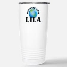 World's Greatest Lila Stainless Steel Travel Mug