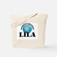World's Greatest Lila Tote Bag
