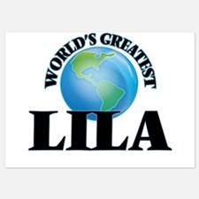 World's Greatest Lila Invitations