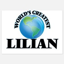World's Greatest Lilian Invitations