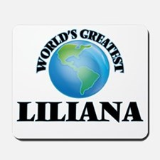 World's Greatest Liliana Mousepad