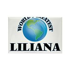 World's Greatest Liliana Magnets