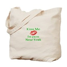 Kiss Me I'm from New York Tote Bag
