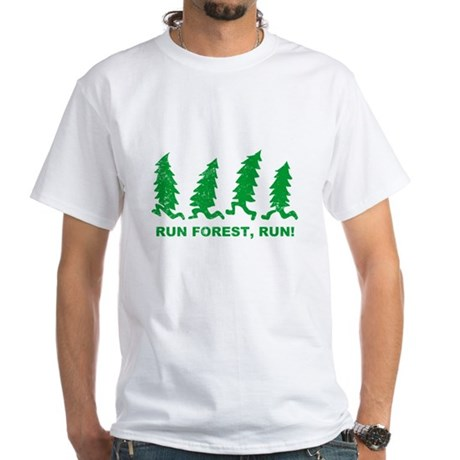 Run Forest, Run! White T-Shirt