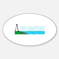 The Hamptons Oval Decal