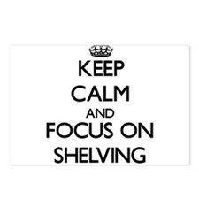 Keep Calm and focus on Sh Postcards (Package of 8)