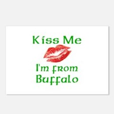 Kiss Me I'm from Buffalo Postcards (Package of 8)