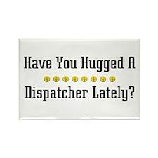 Hugged Dispatcher Rectangle Magnet