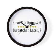 Hugged Dispatcher Wall Clock