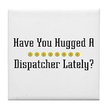 Hugged Dispatcher Tile Coaster