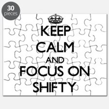 Keep Calm and focus on Shifty Puzzle
