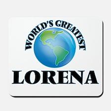 World's Greatest Lorena Mousepad