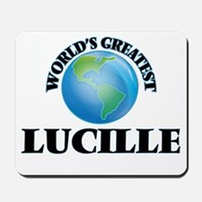 World's Greatest Lucille Mousepad