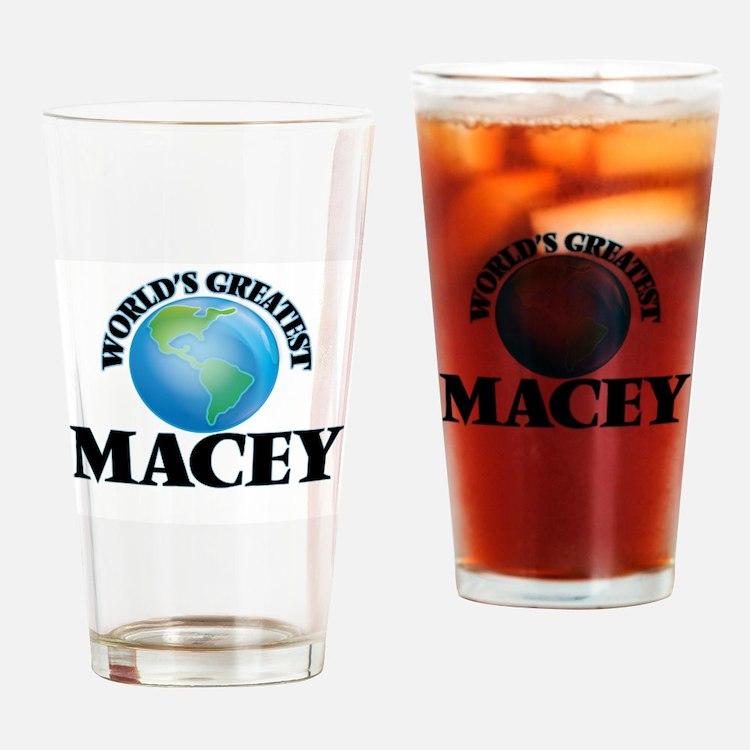 World's Greatest Macey Drinking Glass