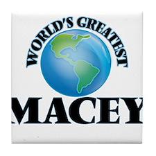 World's Greatest Macey Tile Coaster