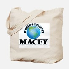 World's Greatest Macey Tote Bag