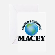 World's Greatest Macey Greeting Cards