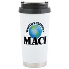 World's Greatest Maci Travel Mug