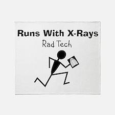 Rad Tech Throw Blanket