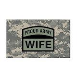 """Army wife 3"""" x 5"""""""