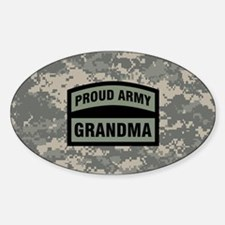 Proud Army Grandma Camo Decal
