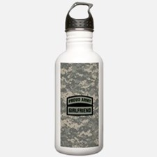 Proud Army Girlfriend Water Bottle