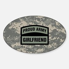 Proud Army Girlfriend Camo Decal