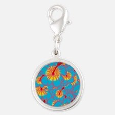 Light blue hibiscus Charms