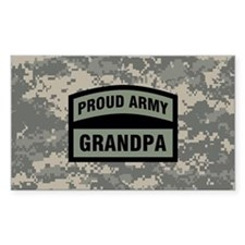Proud Army Grandpa Camo Decal