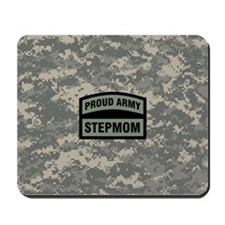 Proud Army Stepmom Camo Mousepad