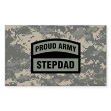 Proud Army Stepdad Camo Decal