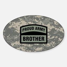 Proud Army Brother Camo Decal