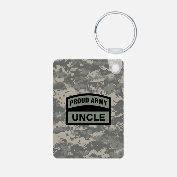 Proud Army Uncle Camo Keychains