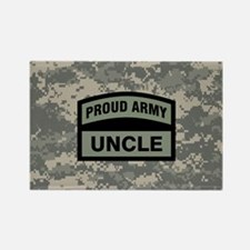 Proud Army Uncle Camo Rectangle Magnet