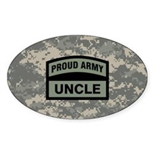 Proud Army Uncle Camo Decal
