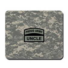 Proud Army Uncle Camo Mousepad