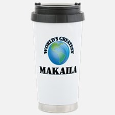 World's Greatest Makail Stainless Steel Travel Mug