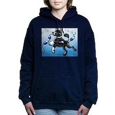 Portuguese Water Dog Women's Hooded Sweatshirt