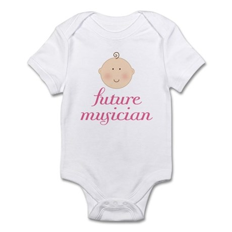 Cute Future Musician Infant Bodysuit