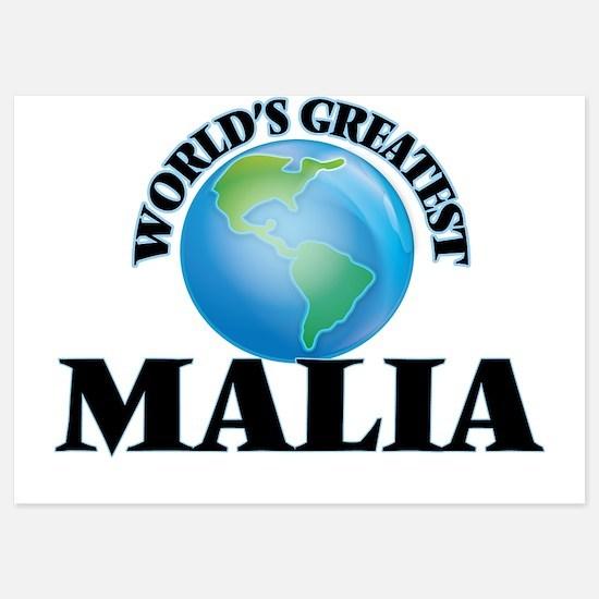 World's Greatest Malia Invitations