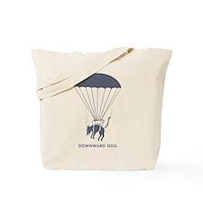 DOWNWARDDOG.png Tote Bag