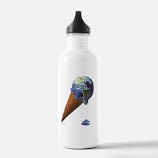 earth melt Water Bottle