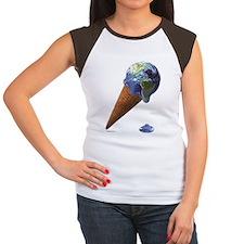 earth melt Women's Cap Sleeve T-Shirt