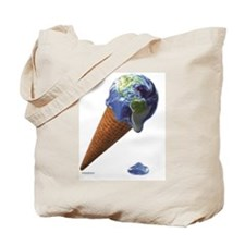 earth melt Tote Bag