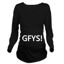 GFYS Long Sleeve Maternity T-Shirt