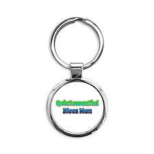 Quintessential Blues Man Keychains