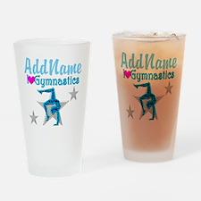 FIERCE GYMNAST Drinking Glass