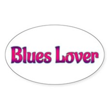 Blues Lover Decal