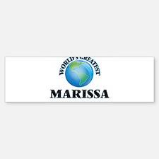 World's Greatest Marissa Bumper Bumper Bumper Sticker